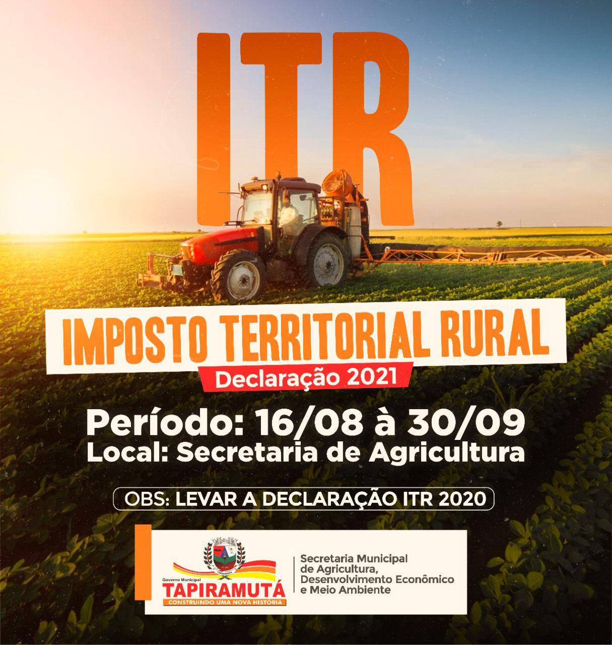 Proprietários de imóveis rurais já podem fazer suas declarações; saiba mais